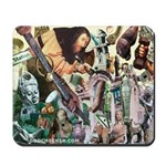 'The Gods Go Housebuilding' Mousepad