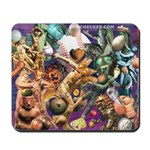 'The Gods Play Ball' Mousepad