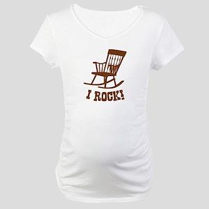 I Rock! Maternity T-Shirt