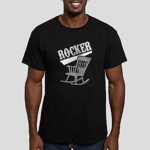 Rocker Men's Fitted T-Shirt (dark)