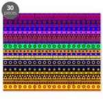 Rainbow Stripes Pattern Puzzle