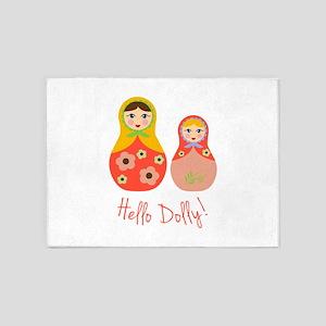 Hello Dolly! 5'x7'Area Rug