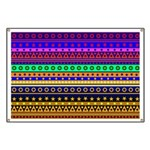 Rainbow Stripes Pattern Banner