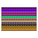 Rainbow Stripes Pattern Posters