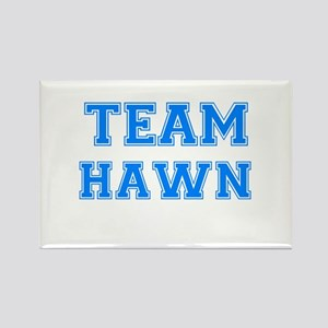 TEAM HAWN Rectangle Magnet