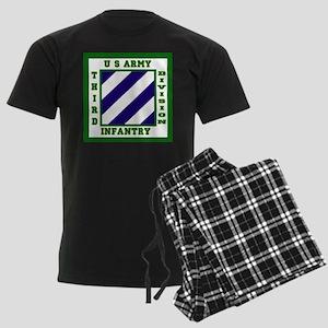 3rd Infantry Division Logo Men's Dark Pajamas
