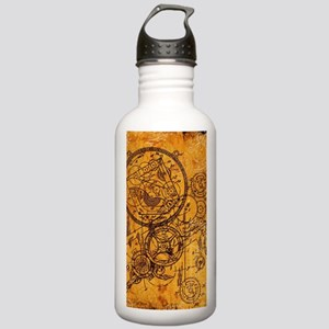 Clockwork Collage Stainless Water Bottle 1.0L
