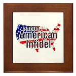 American Infidel Framed Tile