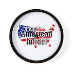 American Infidel Wall Clock