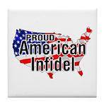 American Infidel Tile Coaster