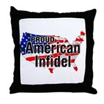 American Infidel Throw Pillow