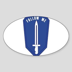 Infantry School Sticker