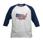 American Infidel Kids Baseball Jersey