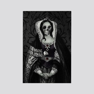 Gothic Skull Lady Magnets