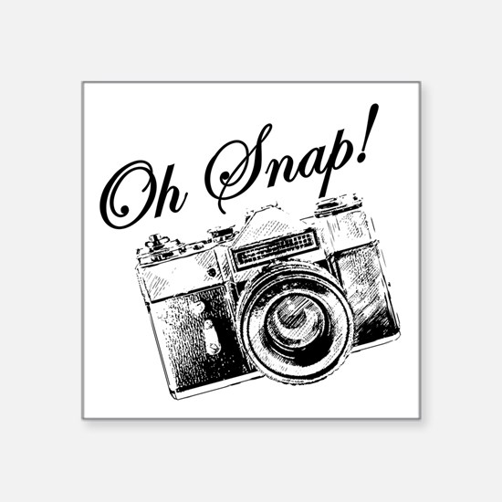 OH SNAP CAMERA Sticker