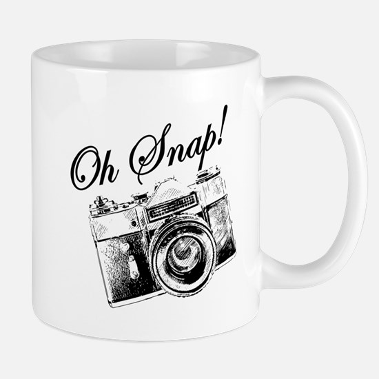 OH SNAP CAMERA Mugs