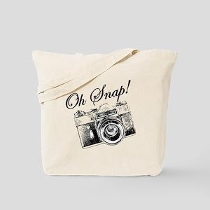 OH SNAP CAMERA Tote Bag
