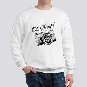 OH SNAP CAMERA Sweatshirt