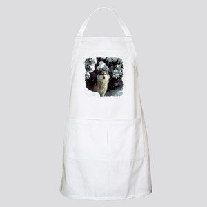 Winter Wolf BBQ Apron