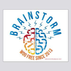 Brainstorm with website Small Poster