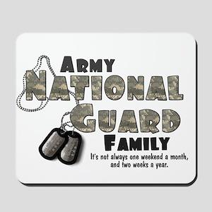 National Guard Family Mousepad
