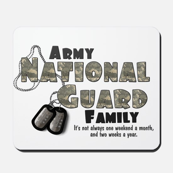 National Guard Family Mousepad