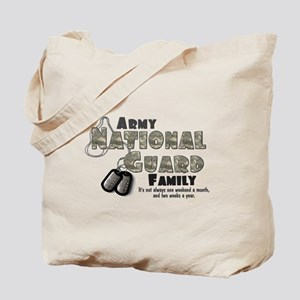 National Guard Family Tote Bag