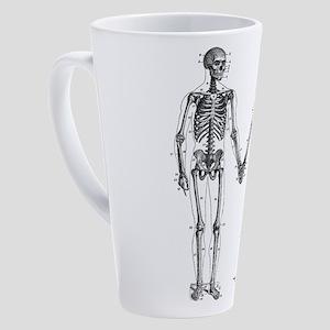 Skeleton 17 oz Latte Mug
