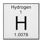 1. Hydrogen Tile Coaster