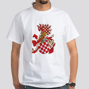 Old Croatian Coat of Arms White T-Shirt