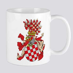 Old Croatian Coat of Arms Mug