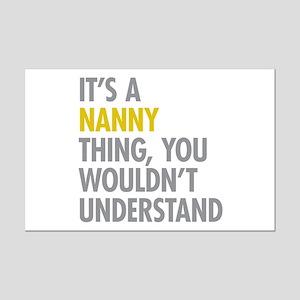 Its A Nanny Thing Mini Poster Print