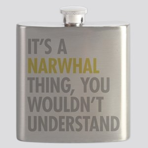 Its A Narwhal Thing Flask