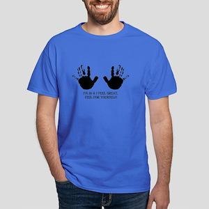 funny 50th birthday hands Dark T-Shirt