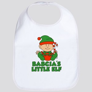 Babcia's Little Elf Bib