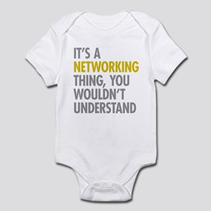 Its A Networking Thing Infant Bodysuit