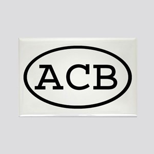 ACB Oval Rectangle Magnet
