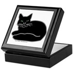 Black Kitty Keepsake Box