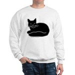 Black Kitty Sweatshirt
