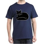 Black Kitty Dark T-Shirt