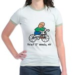 Bicycler Point O' Woods Jr. Ringer T-Shirt