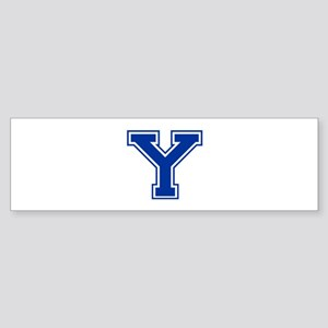 Y-var blue2 Bumper Sticker