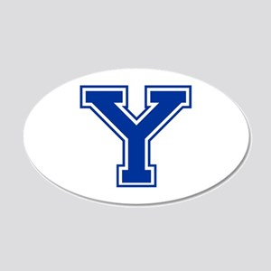 Y-var blue2 Wall Decal