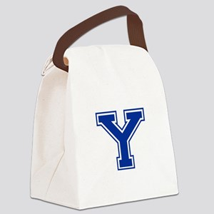 Y-var blue2 Canvas Lunch Bag