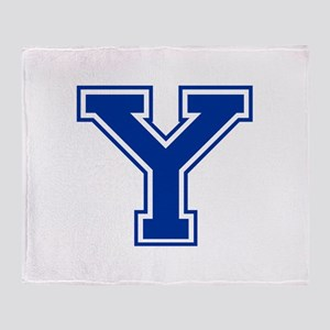 Y-var blue2 Throw Blanket