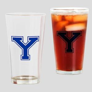 Y-var blue2 Drinking Glass