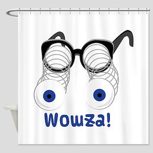 Wowza Shower Curtain