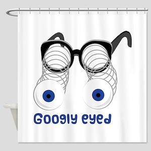 Googly Eyed Shower Curtain