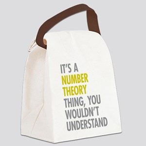 Number Theory Thing Canvas Lunch Bag