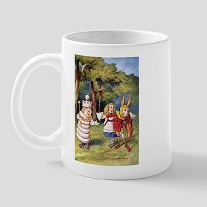 ALICE & THE WHITE KING Mug